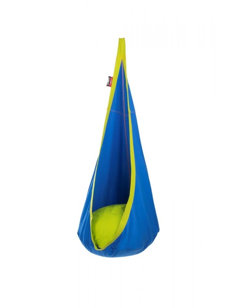 Детское подвесное кресло-гамак Nest Blueberry