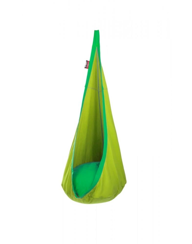 Детское подвесное кресло-гамак Nest Lime.