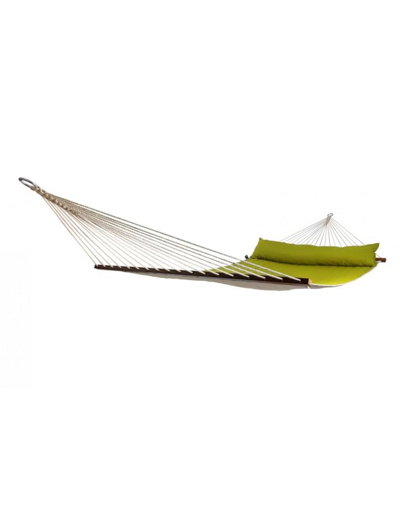 Гамак для дачи с планками-перекладинами Family Avocado