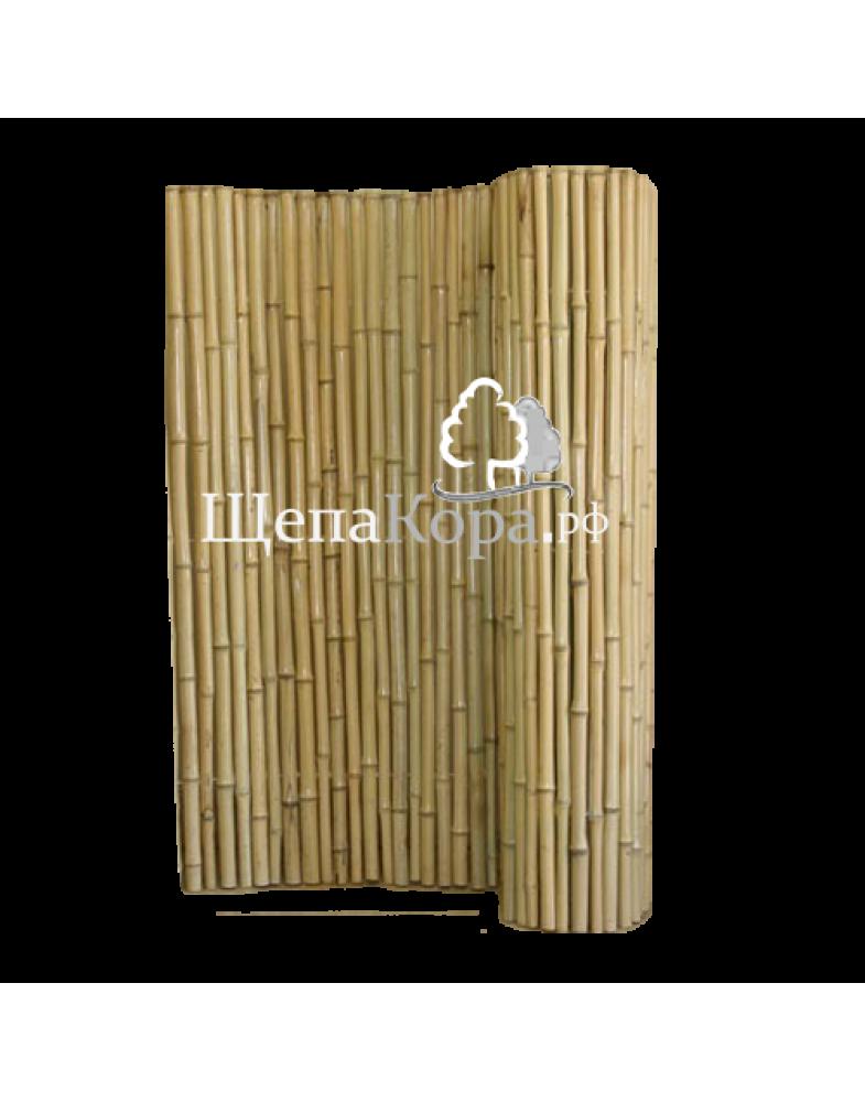 Бамбуковый мат в рулоне, высота 1,5 метра