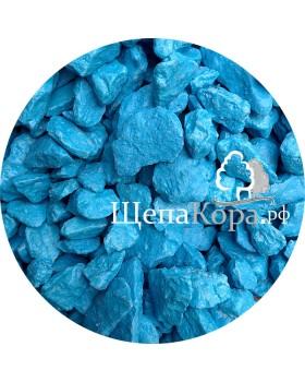 Мраморная крошка синяя, фракция 10-20 мм