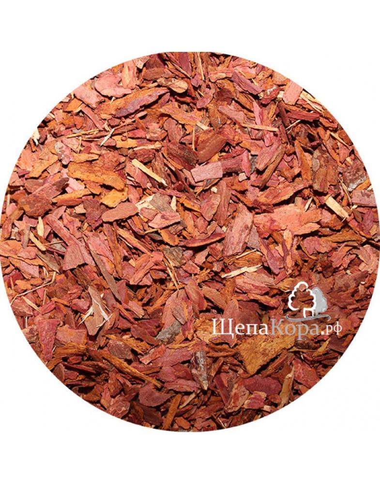 Кора лиственницы, размер фракции от 1 до 3 см