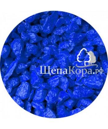 Мраморная крошка темно-синяя, фракция 10-20 мм