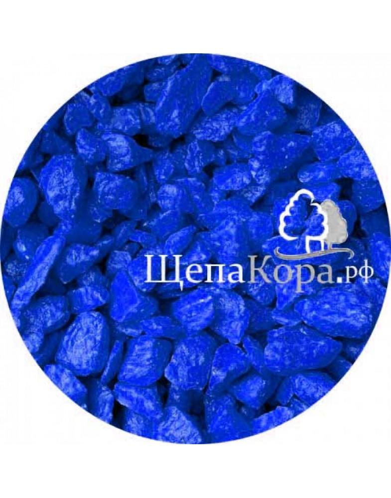 Цветной мрамор темно-синий