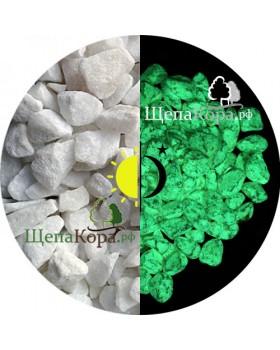 Камни люминесцентные, зеленое свечение, 1кг