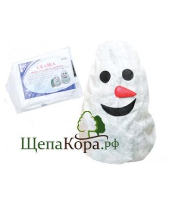 """Чехол для укрытия растений с УФ защитой """"Снеговик"""""""