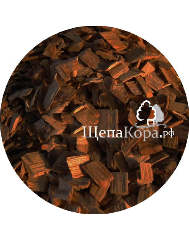Щепа декоративная коричневая