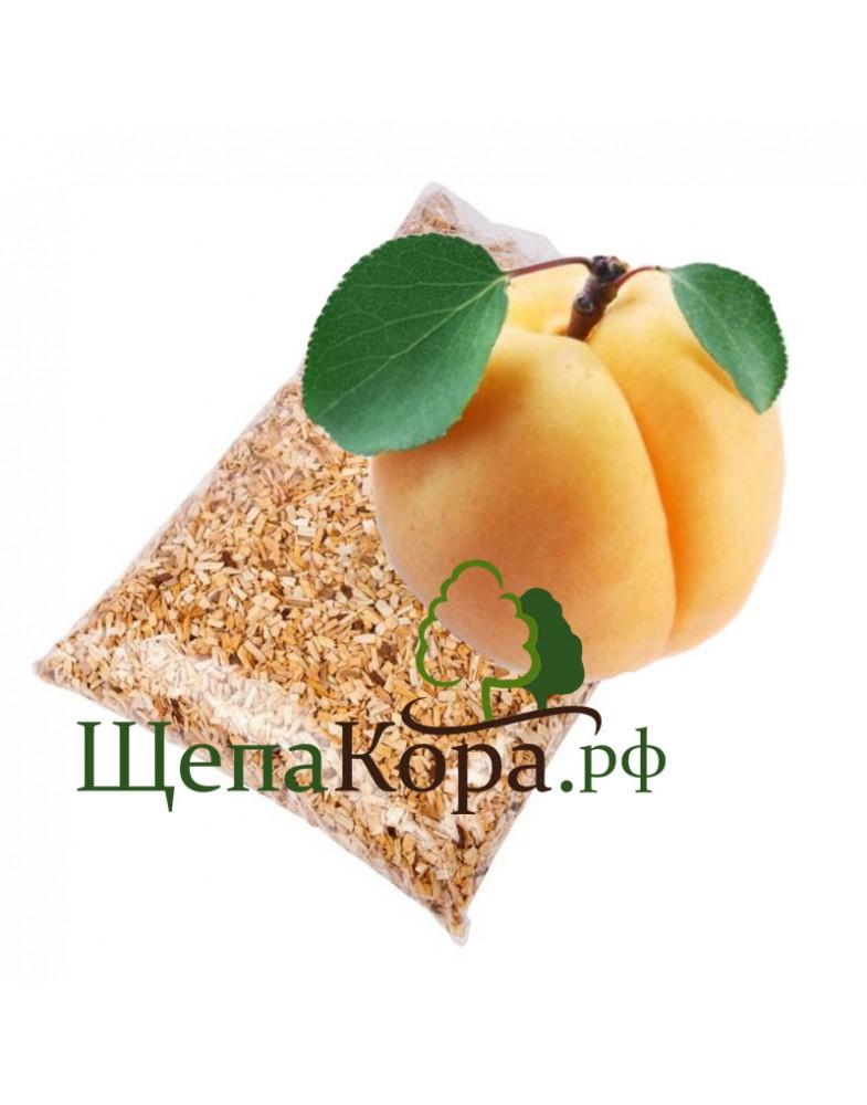 Щепа абрикоса для копчения,  3-7мм или 7-12мм