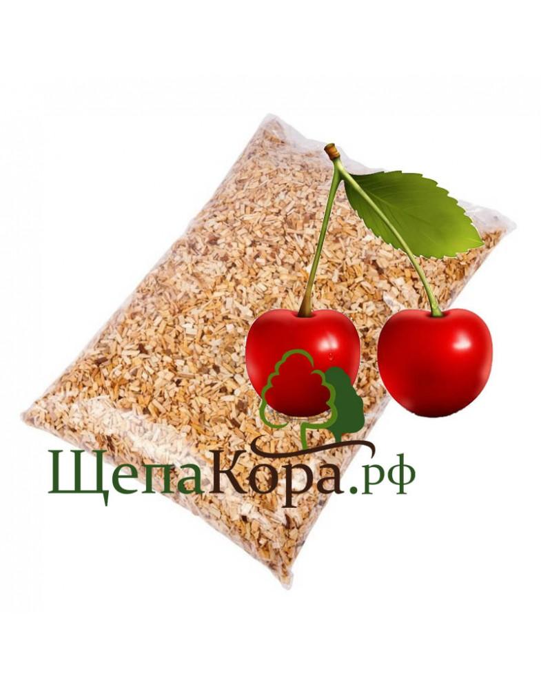 Щепа вишни для копчения 3-7мм или 7-12мм