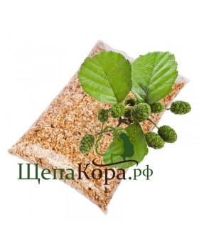 Щепа ольхи, 1 кг (фр. 3-7, 7-12 мм)