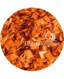 Щепа декоративная оранжевая