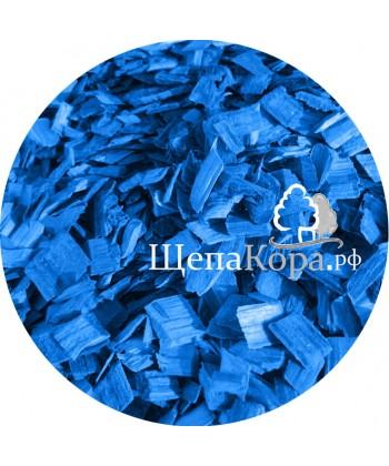 Щепа декоративная синяя