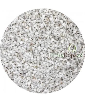 Мраморный щебень, фракция 2-5мм, 25 кг