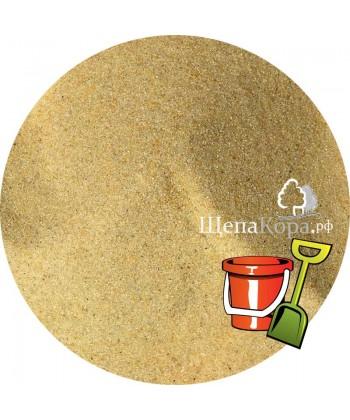 Прокаленный песок для детской песочницы желтый, 25кг (кварцевый)
