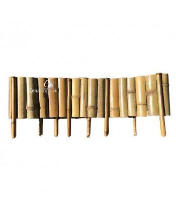 Декоративное ограждение из бамбука 20см*2м