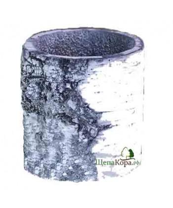 Горшок-цветочница вертикальный, береза (ХS)