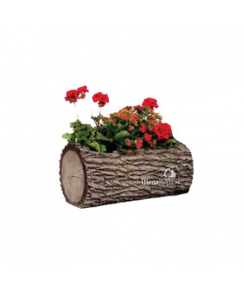 Горшок-цветочница горизонтальный, дуб (L)