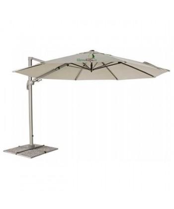 Зонт боковой Lecce (темно-бежевый)