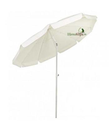 Зонт с наклоном Cagliari (бежевый)