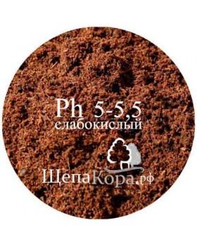 Торф верховой Ph 5-5,5 (слабокислый), 50 л