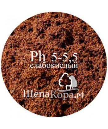 Торф верховой Ph 5-5,5 (слабокислый), 50л