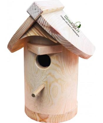 """Скворечник для птиц из массива дерева """"Надежный"""""""