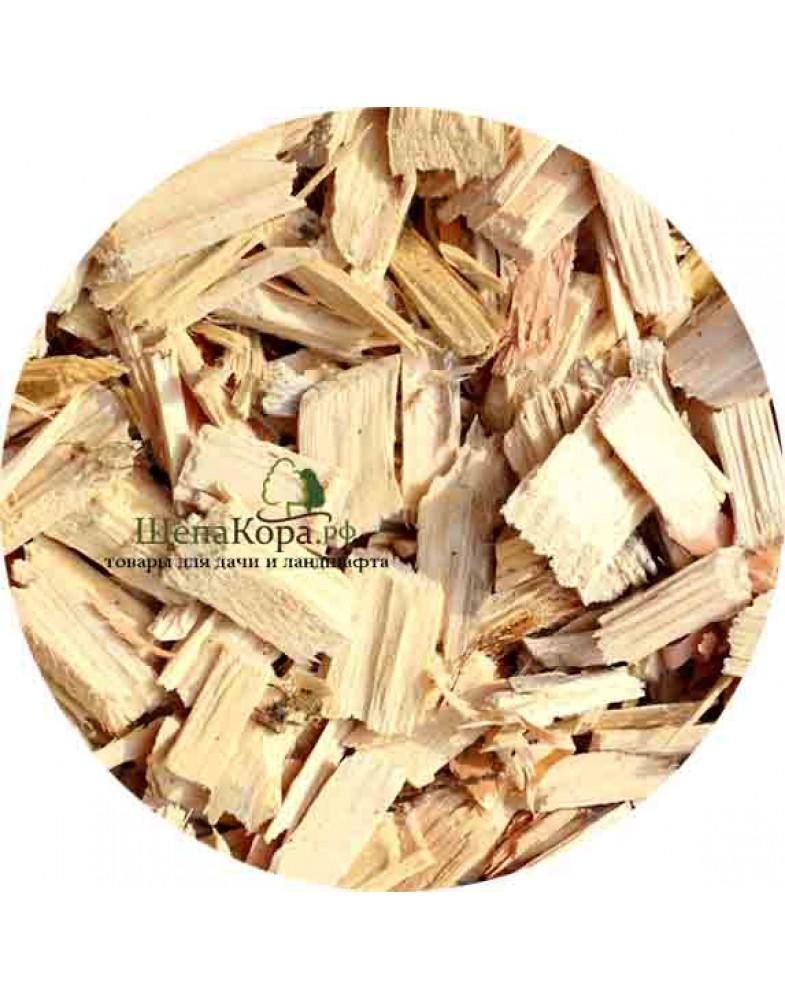 Щепа древесная натуральная