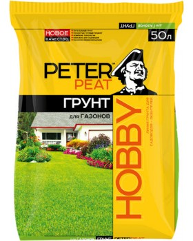 Грунт для газонов Peter Peat, 50 л