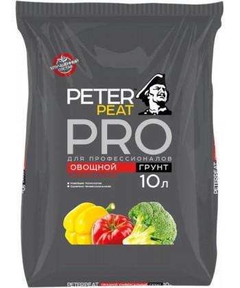 Овощной грунт Peter Peat, 10 л (Линия ПРО)