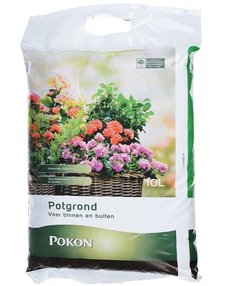 Универсальный грунт для горшечных растений (Pokon), 10л