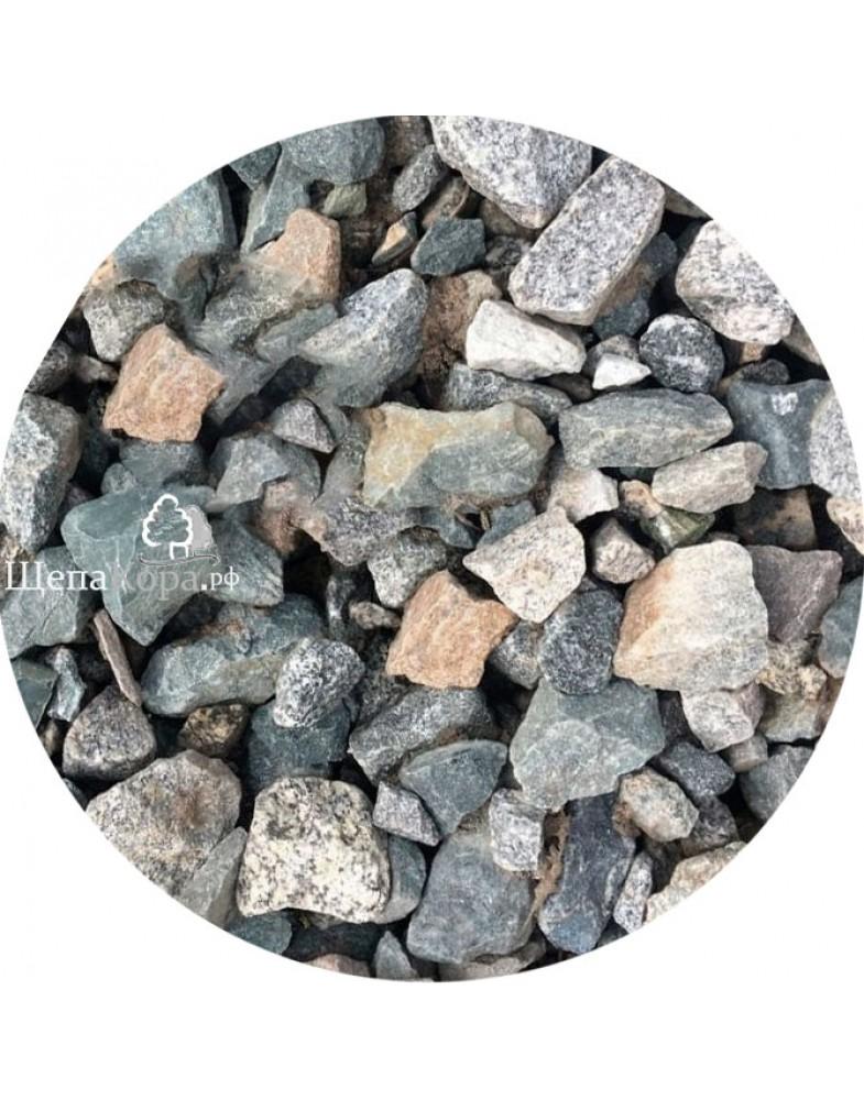 Щебень гравийный 20-40 мм с доставкой