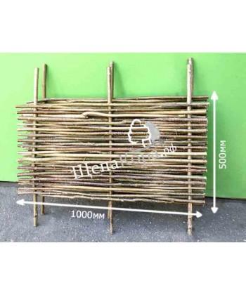 Плетень, забор из орешника