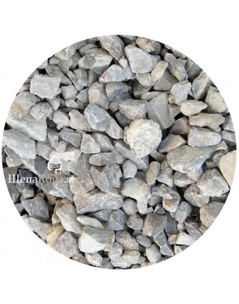 Щебень гравийный 40-70 мм с доставкой