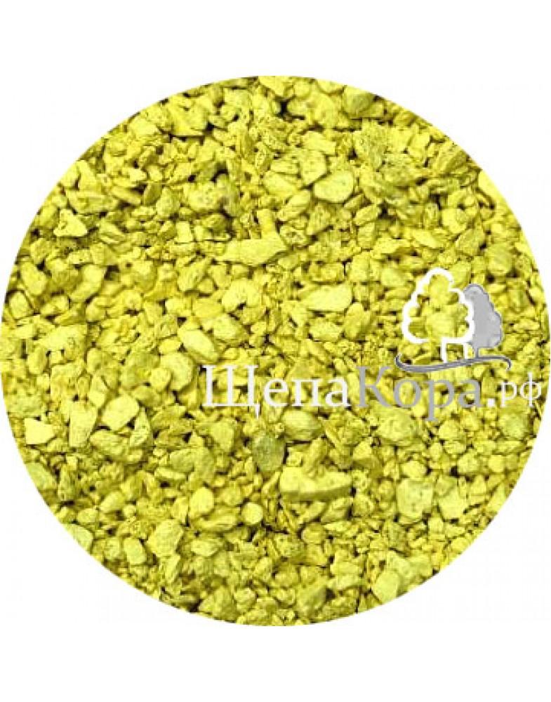 Желтый мрамор окрашенный