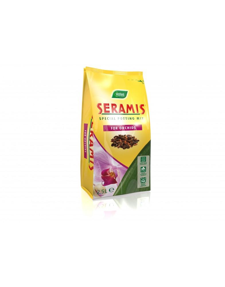 Серамис для орхидей, уп. 2,5л. коробка 10шт