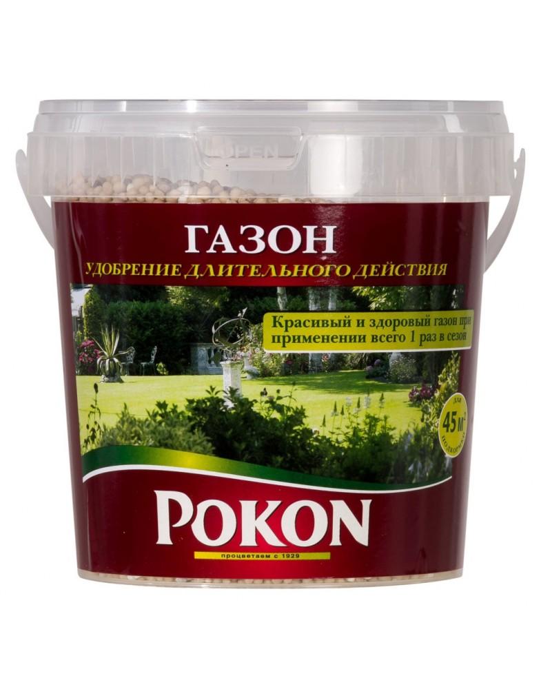 Удобрение для газонов длительного действия (Pokon), ведро 0,9кг