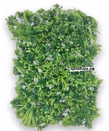 Белые цветочки, 40х60 см