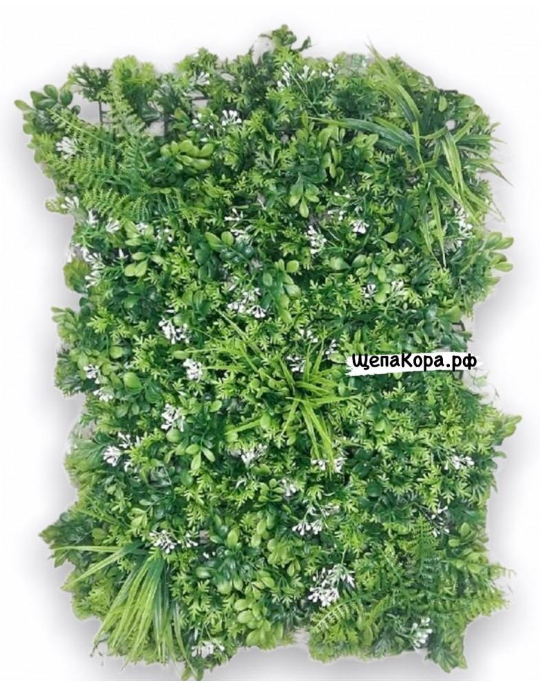 Белые цветочки 40х60 см