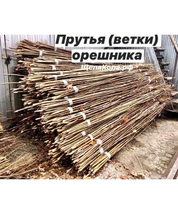 Ветки из орешника, прут высотой 2,5-3 м
