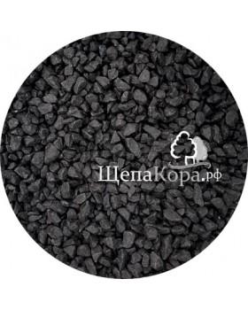 Мраморная крошка черная, фракция 10-20 мм