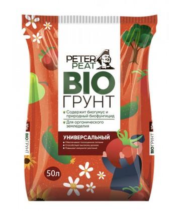 Биогрунт универсальный Peter Peat, линия БИО, 50 л