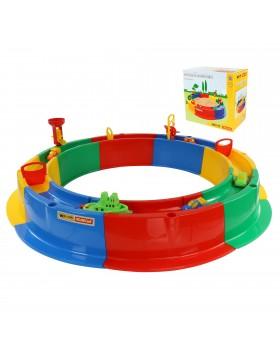 """Песочница """"Кольцо"""" для игр с водой и набором игрушек"""