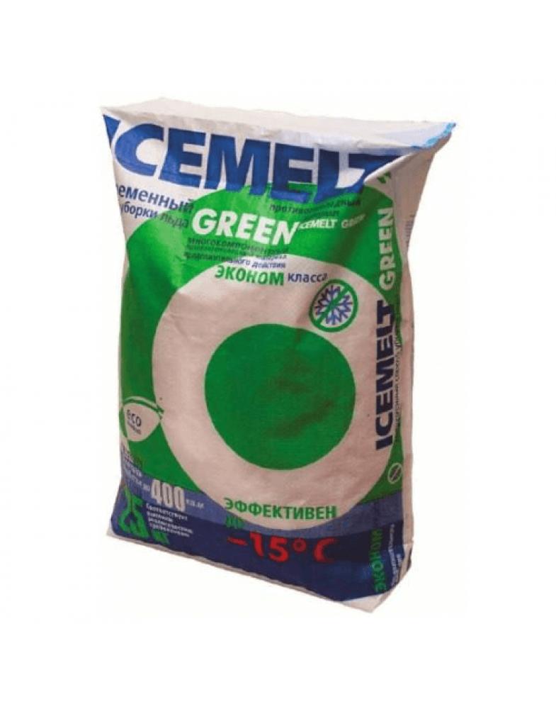 Айсмелт (Icemelt Green) -15С, 25 кг