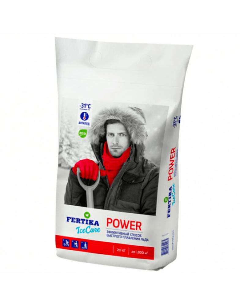 Противогололедный реагент FERTIKA ICECARE POWER -31°C (20 кг.)