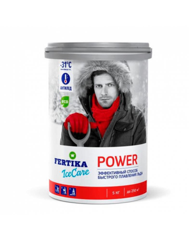 Противогололедный реагент FERTIKA ICECARE POWER -31°C (5 кг.)
