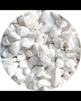 Мраморная крошка белая, фракция 1-3 см