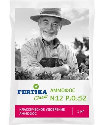 Аммофос N–12%, P2O5–52% (Fertika), 1кг