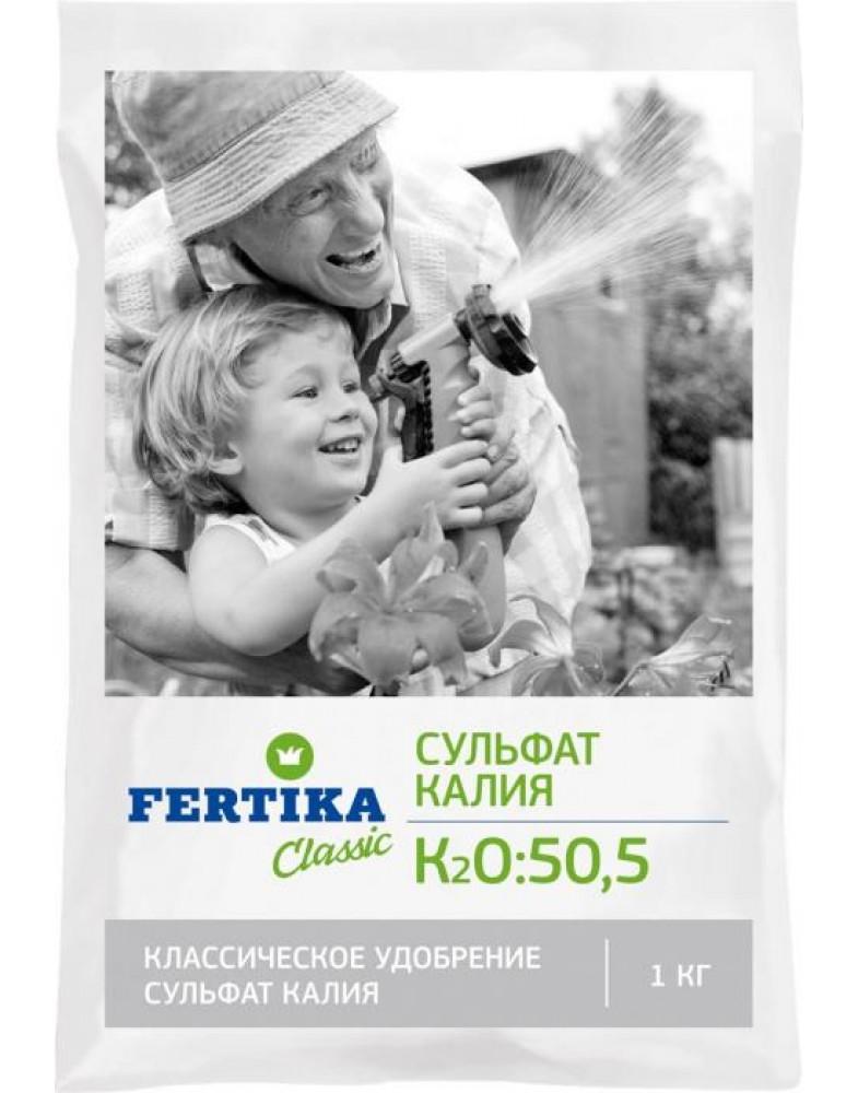 Сульфат калия K2SO4-50,5% (Fertika), 1кг