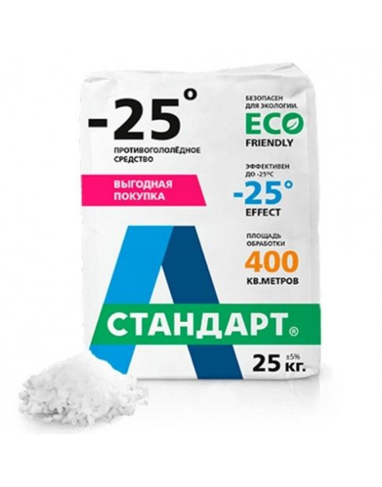 А - Стандарт - 25C, 25 кг